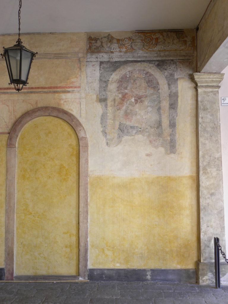 Cittadella palazzo della loggia affresco