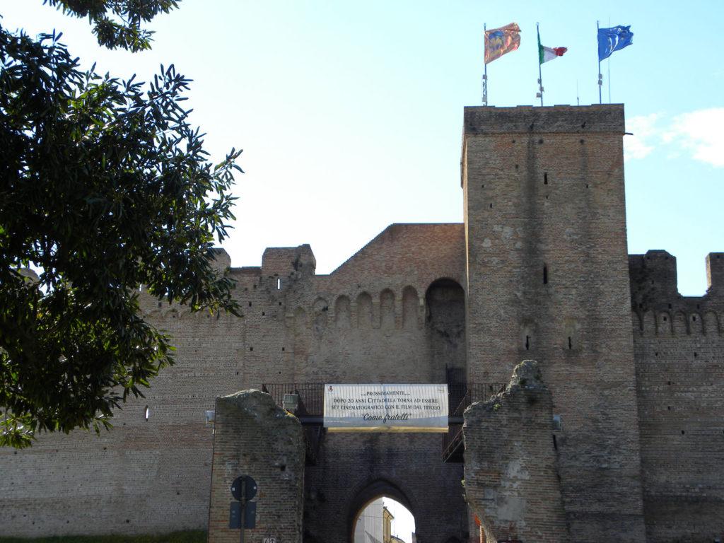 Porta Treviso, vista esterno