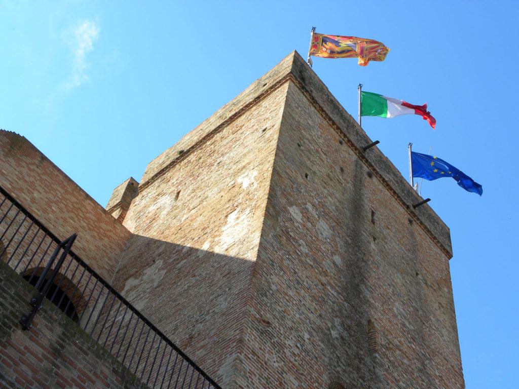 Porta Treviso, Cittadella, torrione