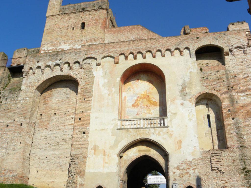 Porta Treviso, Cittadella, vista dall'interno