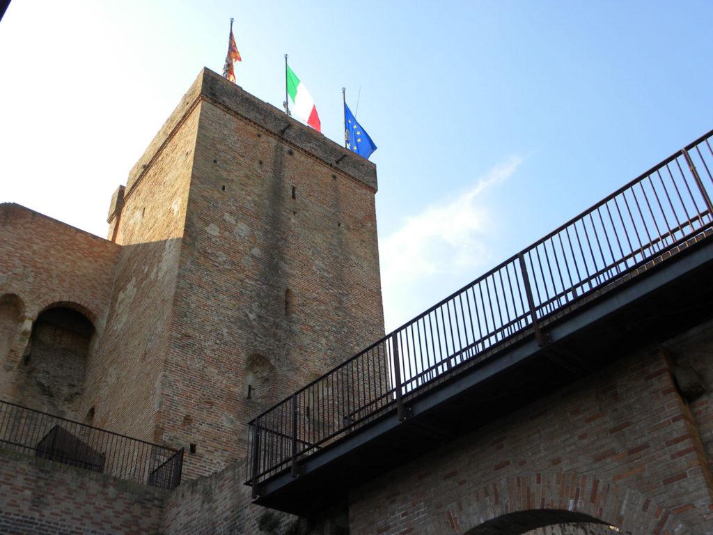 Porta Treviso, Cittadella, fortificazioni interne