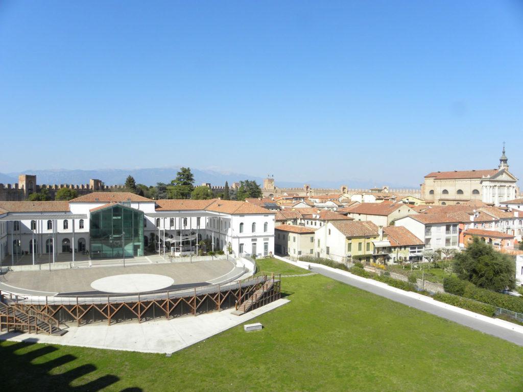 Cittadella, Palazzo Mantegna, anfiteatro, campo della Marta