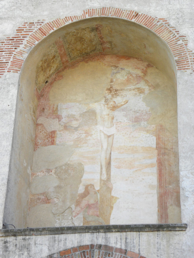 Porta Vicenza affresco